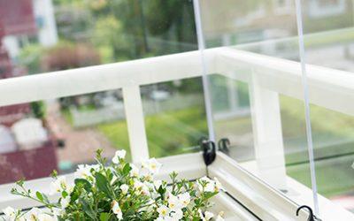 Fem fördelar med inglasade balkonger